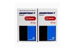Inhibitron F 40 mg Caja Con 2 Frascos Con 15 Cápsulas