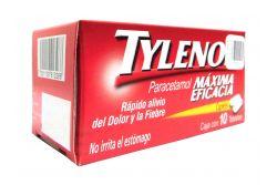 Tylenol Máxima Eficacia Caja Con 10 Tabletas