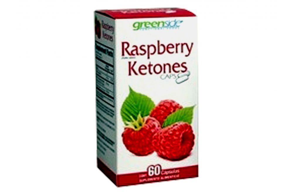 Raspberry Ketones Greenside Caja Con Frasco Con 60 Cápsulas