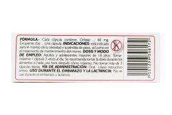 Redustat  60 mg Caja Con 30 Cápsulas.
