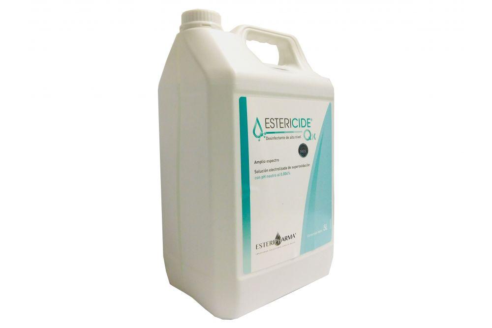 Estericide Qx Solución Electrolizada Envase Con 5 L