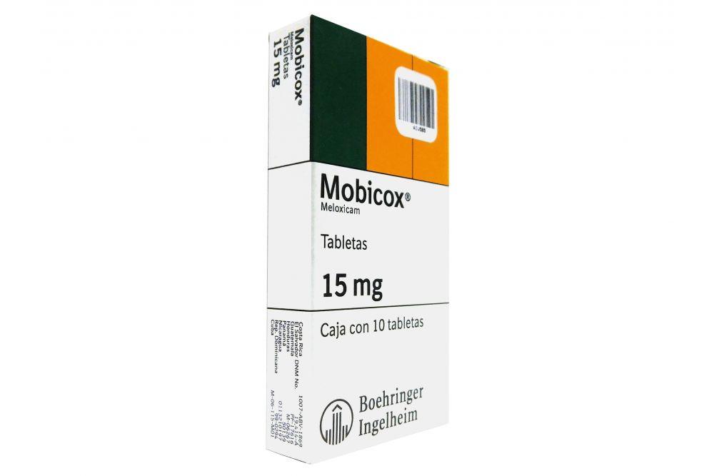 Mobicox 15 mg Caja Con 10 Tabletas