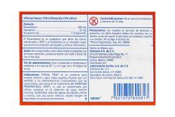Syncol Teen 500 mg / 25 mg Caja Con 12 Comprimidos