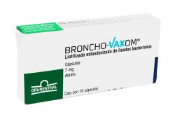 Broncho Vaxom Adulto 7 mg Caja Con 10 Cápsulas
