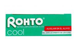 Rohto Cool Gotas Lubricantes De Ojos Caja Con Botella De 13 mL
