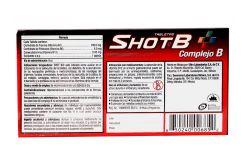 Shot B Caja Con Frasco Con 30 Tabletas