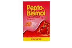 Pepto Bismol 262 mg Caja Con 24 Tabletas Sabor Cereza