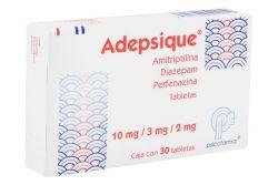 Adepsique 10 mg / 3 mg / 2 mg Caja Con 30 Tabletas - RX1