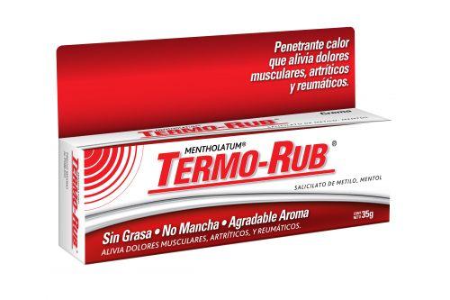 Termo Rub Crema 35 g Caja Con Tubo