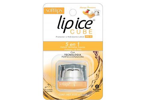 Lip ICe Cube Mango-Durazno Empaque Con Una Pieza