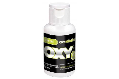 Oxy 5 Gel 5% Caja Con Botella Con 30 g Fórmula Color Piel