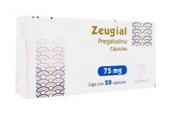 Zeugial 75 mg Caja Con 28 Cápsulas