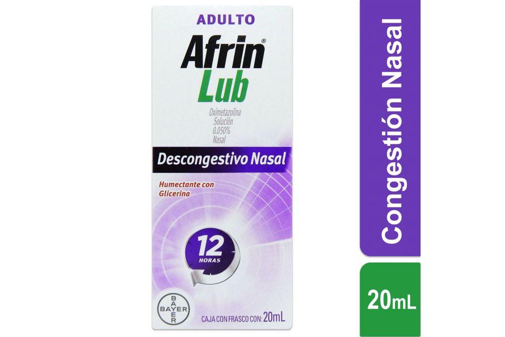 Afrin Lub Adulto Spray Caja Con Frasco Con 20 mL