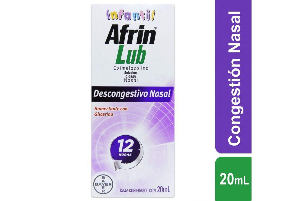 Afrin Lub Infantil Caja Con Frasco Con 20 mL