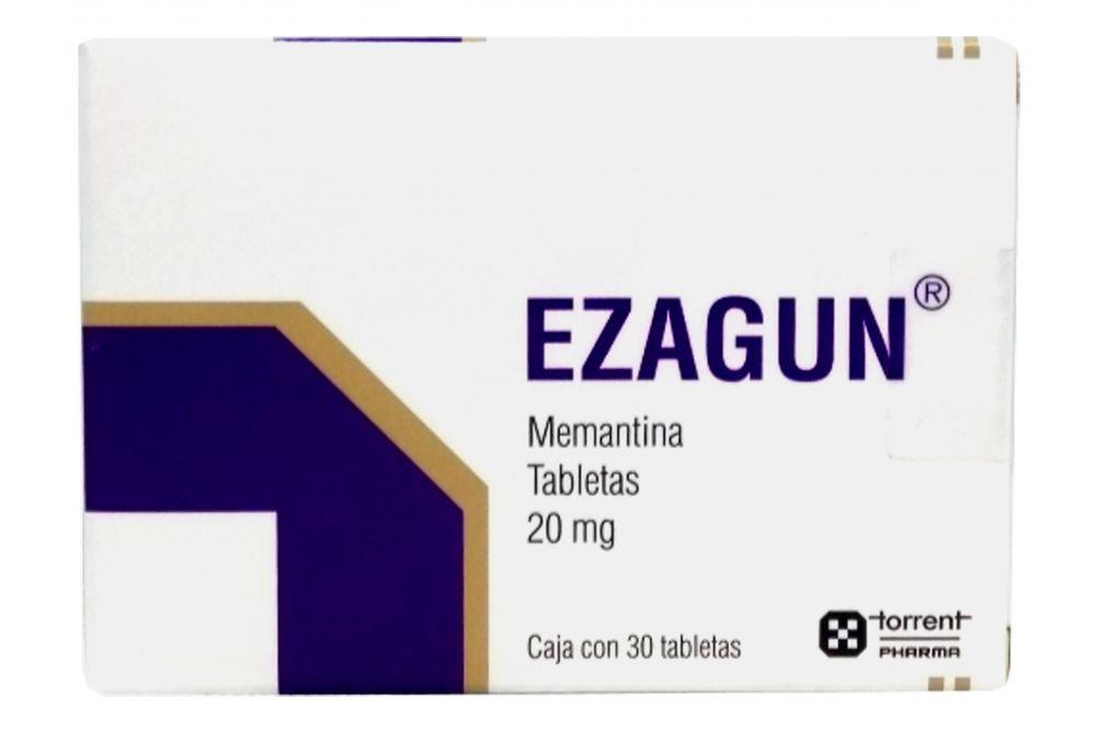 Ezagun 20 mg Caja Con 30 Tabletas