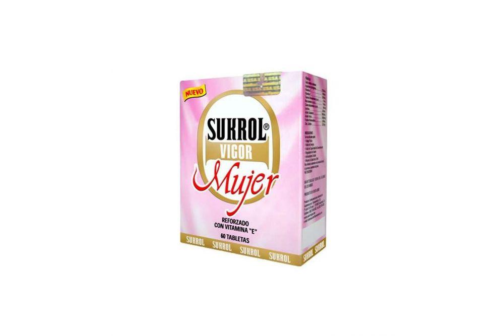 Sukrol Mujer Caja Con 60 Tabletas