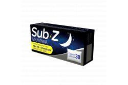 Sub Z 5 mg Caja Con 30 Tabletas Sublinguales. Melatonina