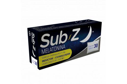 Sub Z 5 mg Caja Con 30 Tabletas Sublinguales.