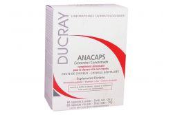Anacaps Ducray Caja Con Frasco Con 60 Cápsulas