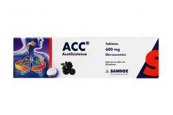 Acc 600 mg Caja Con Tubo Con 20 Tabletas