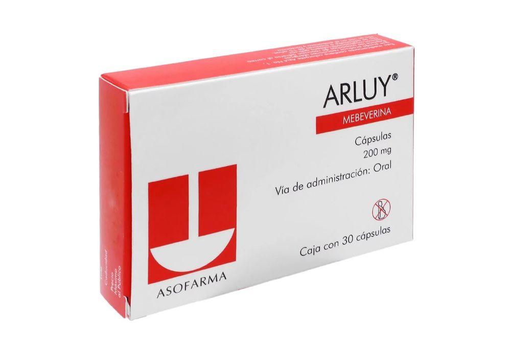 Arluy 200 mg Caja Con 30 Cápsulas
