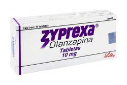 Zyprexa 10 mg Caja Con 14 Tabletas