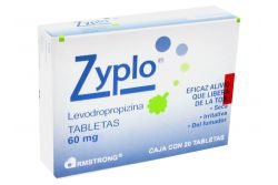 Zyplo 60 mg Caja Con 20 Tabletas