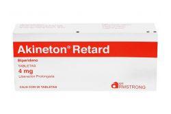 Akineton Retard 4 mg Caja Con 20 Tabletas Liberación Prolongada