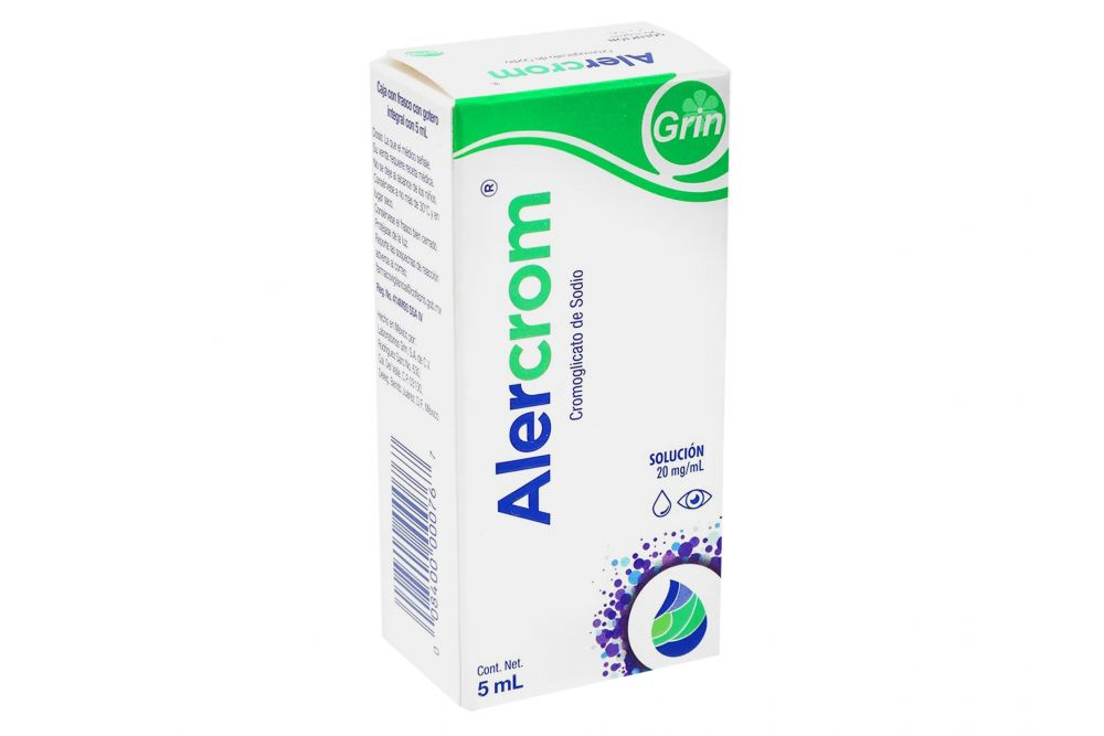 Alercrom Solución 2 % Frasco Gotero Con 5 mL