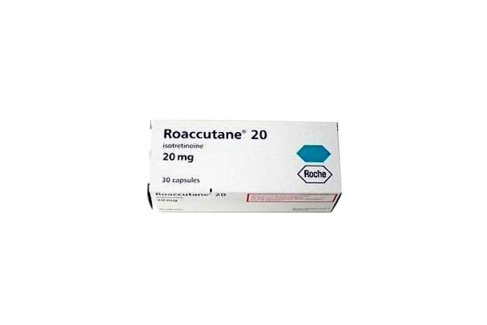 Roaccutan 20 mg Caja Con 30 Cápsulas - Rx1