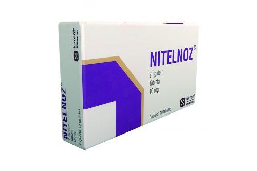 Nitelnoz 10 mg Caja Con 10 Tabletas