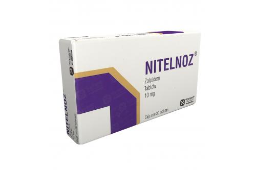 Nitelnoz 10 mg Caja Con 30 Tabletas