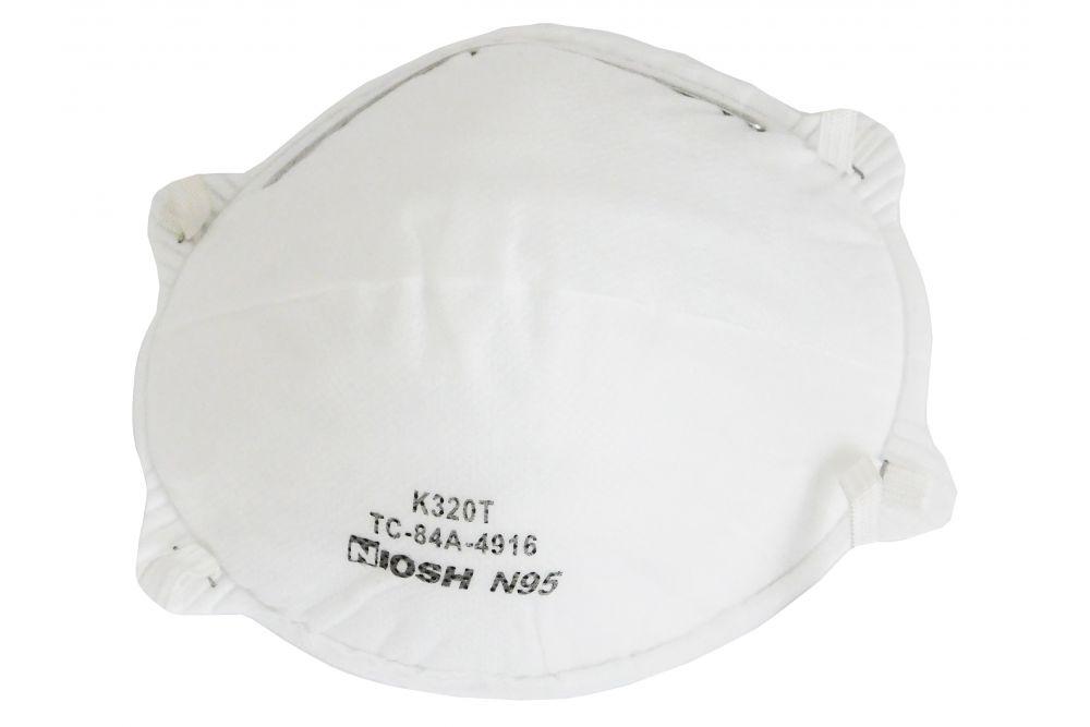 Cubrebocas Niosh N95 Paquete Con 5 Piezas