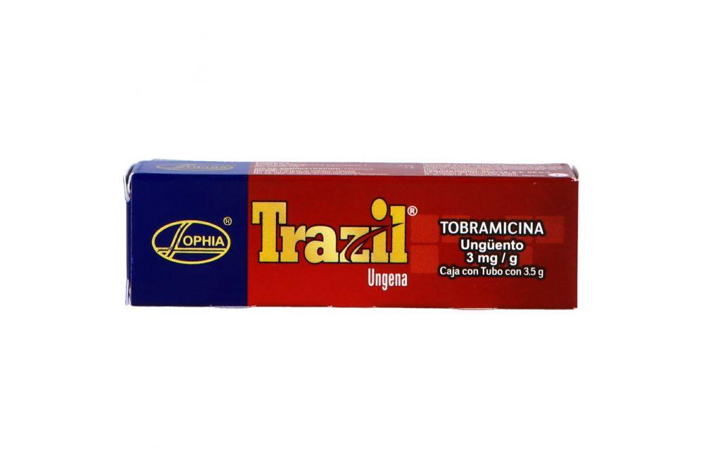 Trazil Ofteno 0.3% Caja Con Tubo Con 3.5g