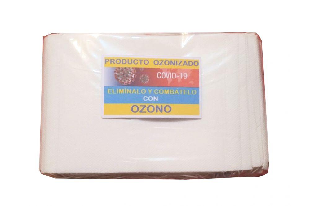 Cubreboca Desechable Ozonizado Paquete Con 100 Piezas