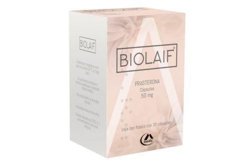 Biolaif 50 mg Caja Con Frasco Con 30 Cápsulas