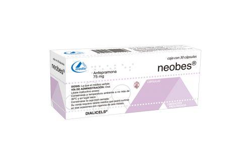 Neobes 75 mg Con 30 Cápsulas - RX1