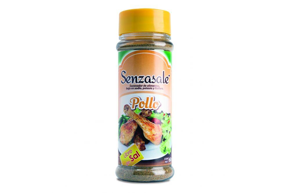 Senzasale Pollo Frasco Con 60 g