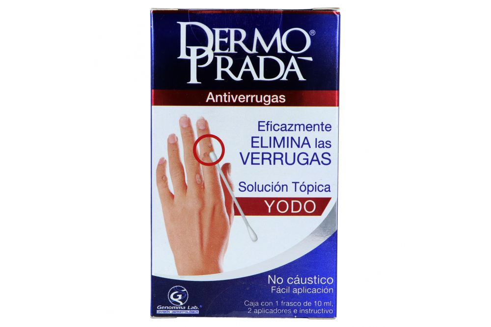 Dermo Prada Caja Con Frasco De 10 mL Y 2 Aplicadores