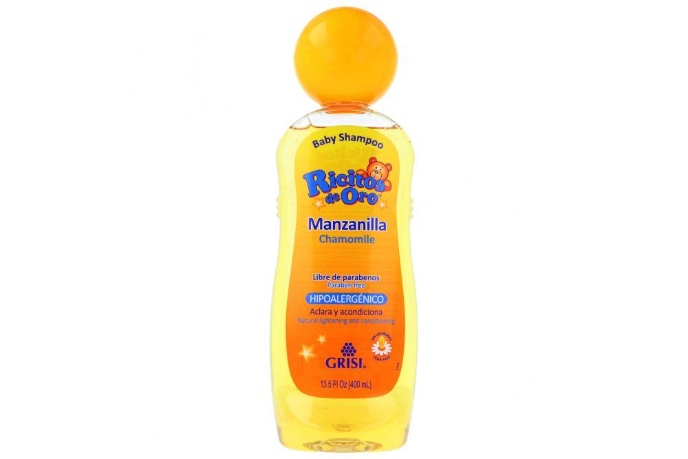Baby Shampoo Ricitos De Oro Botella Con 400mL
