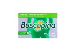 Buscapina 10 mg Caja Con 12 Tabletas