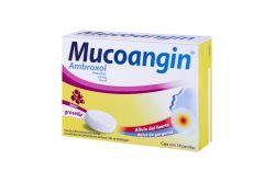 Mucoangin 20 mg Caja Con 18 Pastillas Sabor Grosella