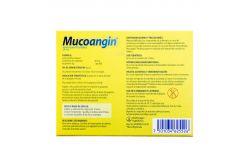 Mucoangin 20 mg Caja Con 18 Pastillas Sabor Menta