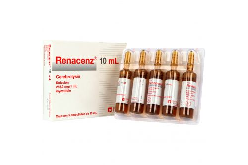 Renacenz 215.2 mg / 1 mL Solución Inyectable Caja Con 5 Ampolletas 10 mL