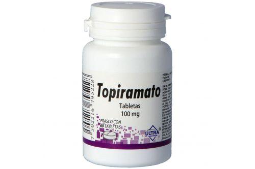 Topiramato 100 mg Frasco Con 60 Tabletas