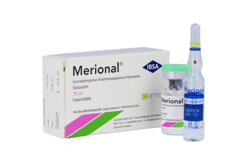 Merional Solución Inyectable Frasco Ámpula Con 75 U.I