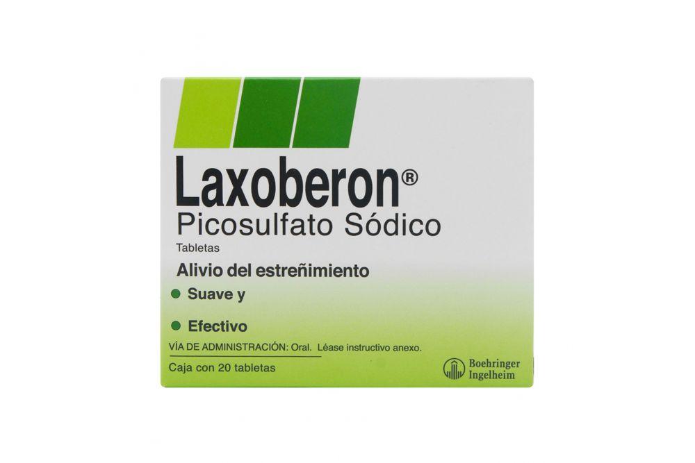 Laxoberon Caja Con 20 Tabletas