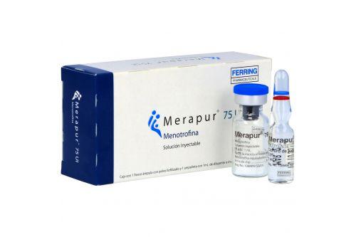 Merapur 75 U.I Polvo Para Solución Inyectable