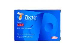 Tecta 40 mg Caja Con 14 Tabletas