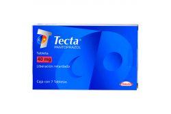 Tecta 40 mg Caja Con 7 Tabletas